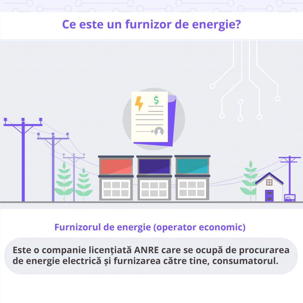 Ce este un furnizor de energie electrica - Despre Energie