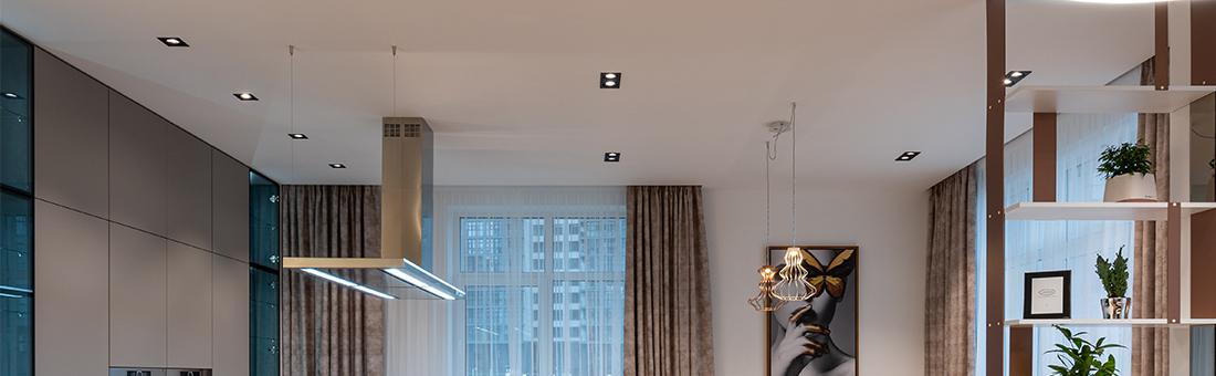 spoturile pe tavan, o solutie de iluminare economica si prietenoasa cu mediul