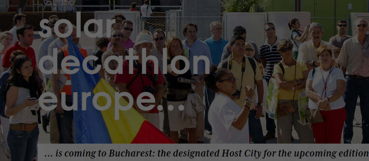 Bucurestiul va fi, in 2023, gazda Solar Decathlon Europe
